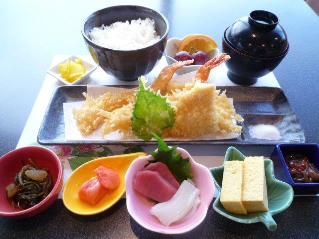 彩り天ぷら御膳